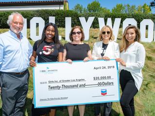Chevron Par 3 Challenge Donates $20k to Girls Inc.