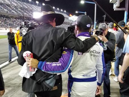 Busch Talks with NBC Sports on Marketability of Next Gen Stars at Daytona