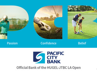 Pacific City Bank Named Official Banking Partner of the 2018 HUGEL-JTBC LA Open