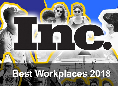 Bespoke Named to Inc. Magazine's Best Workplaces for 2018
