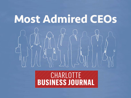 Boykin Named One of Charlotte's Most Admired CEOs