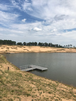 Voyager Docks At Sand Valley