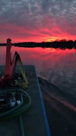Lake Camelot Sunset