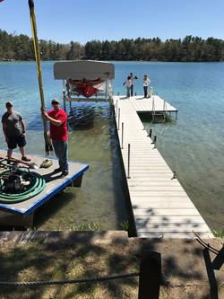 New Floe Lift Install