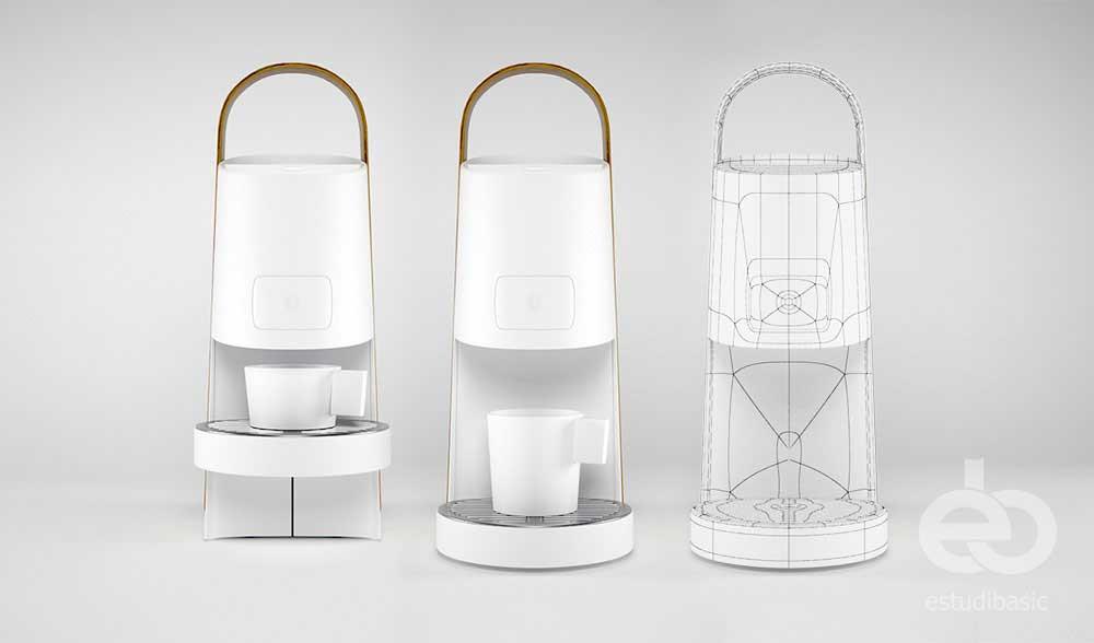 infografísta 3D diseño de producto render