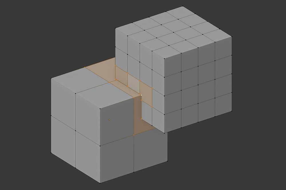 modelado 3d, blender, malla poligonal, boolean, topología