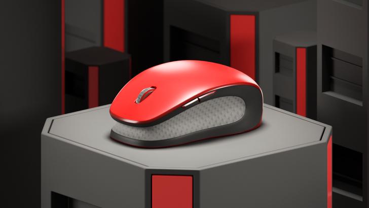 Mouse rojo