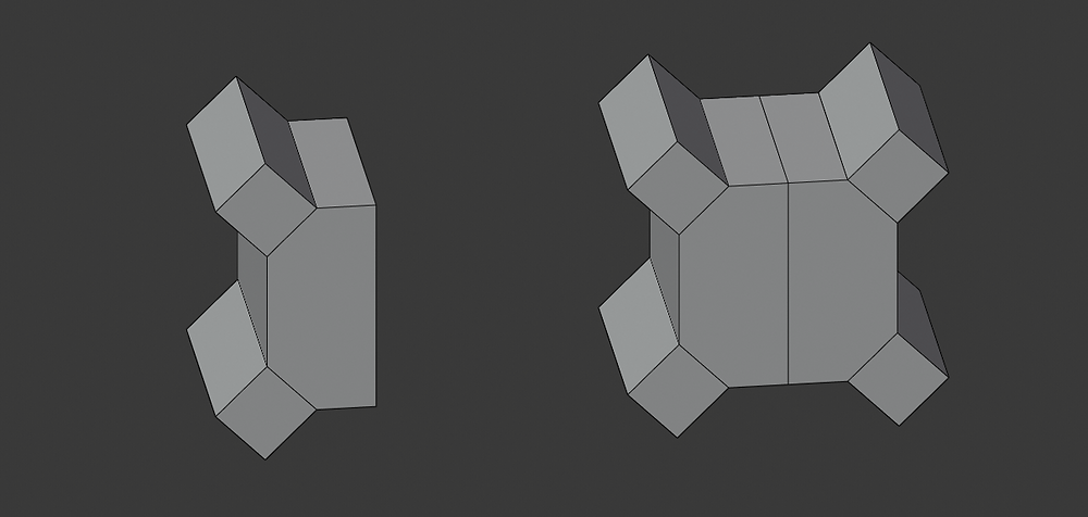 modelado 3d, malla poligonal, blender, modificadores, mirror