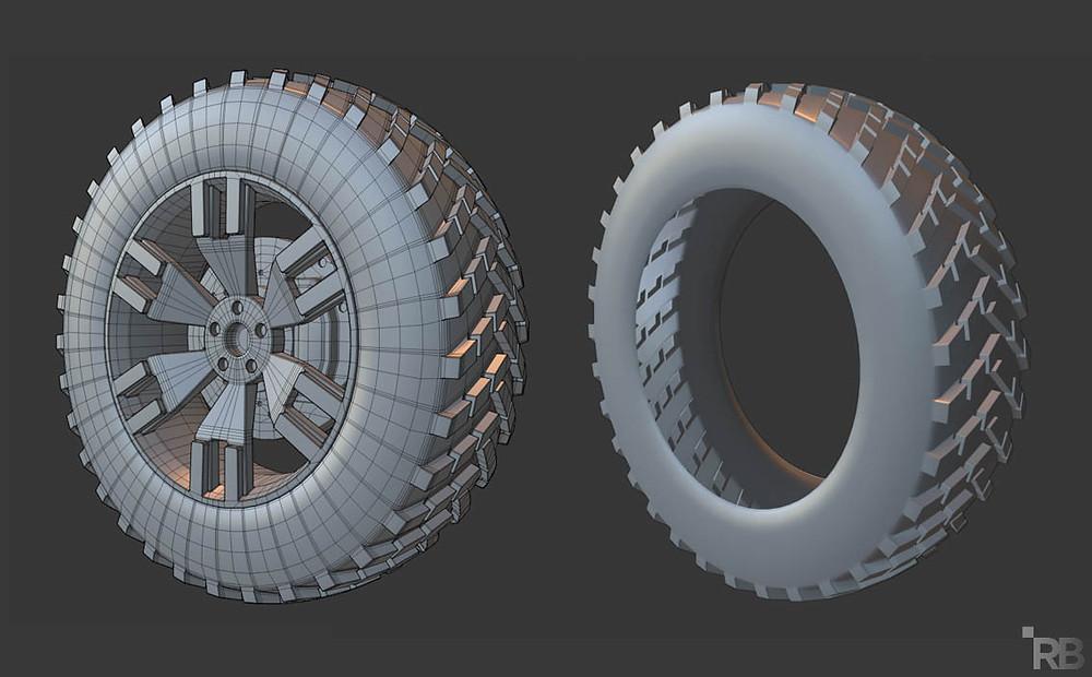 modelado 3d, blender, diseño 3d, malla poligonal, mesh modeling