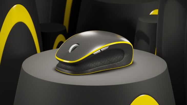 Mouse amarillo
