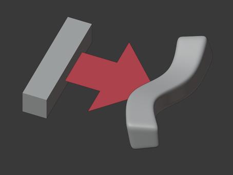 Trabajando con mallas poligonales: Modificadores