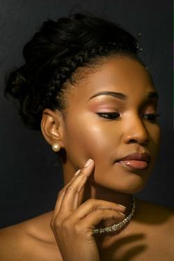 Bridal Makeup Artist For Black skin