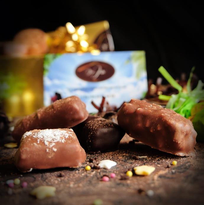 chocolats et plumier