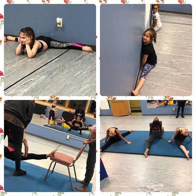 Working on flexibility!  So much progress