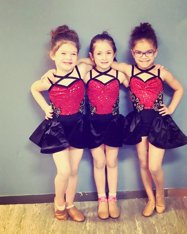 Mini jazz costumes came in! #the716dancelab 😍