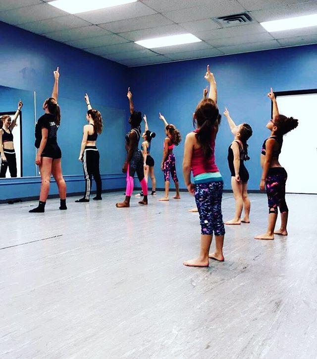 All ready for dancers give back peformance! _dancersgiveback #the716dancelab