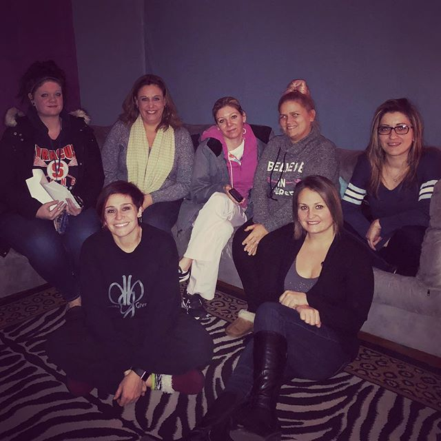 Had an awesome parent meeting with some of the Dance Lab parents! #wine #chocolate #fun #family #the
