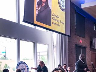 Berdetta Hodge receives NAACP Award