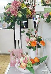 春 ひな祭り フラワーアレンジ ラナンキュラス 可愛い PRIMA 横浜店