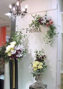 クリスマス コレクション PRIMA池袋 店内 アレンジメント