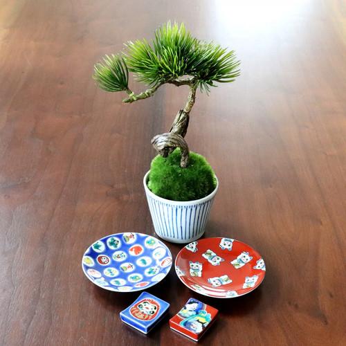 植物→松吹き流し 食器→縁起小皿×箸置