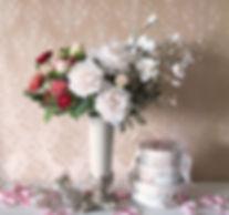 クリスマス フラワーアレンジメント ローズ バラ ピンク PRIMA