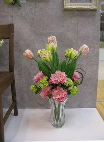 春 フラワーアレンジ ラナンキュラス  ピンク PRIMA 横浜店 23,000+税