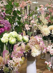 ピンク 造花 ローズ バラ