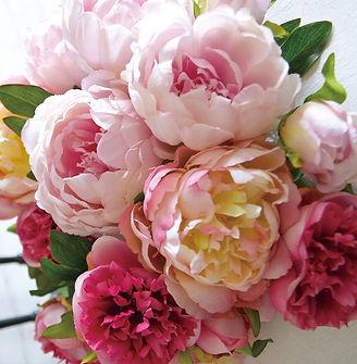 春 フラワーアレンジ ローズ ライラック パープル ピンク PRIMA