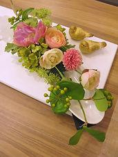 PRIMA 船橋店 春 ピンク フラワーアレンジ ラナンキュラス チューリップ PRIMA¥6,000+税