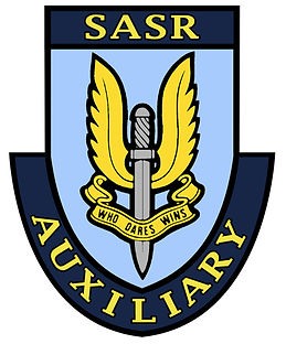 SAS Auxiliary Perth logo 50th colour