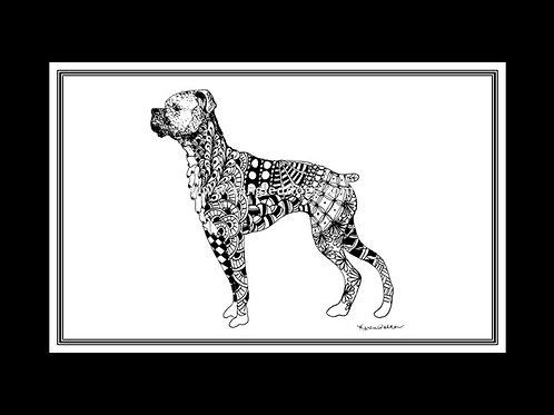 Boxer Print