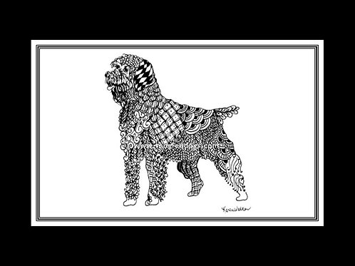 Wirehaired Pointing Griffon Print