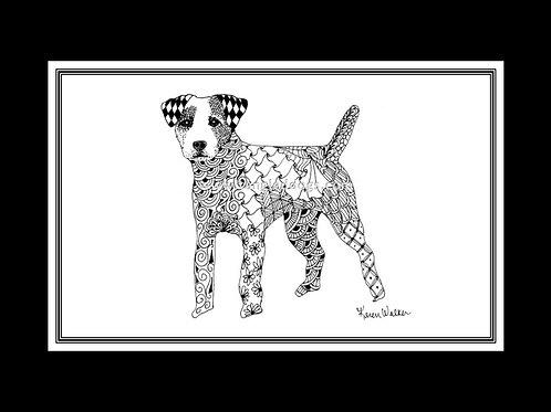 Russell Terrier Print