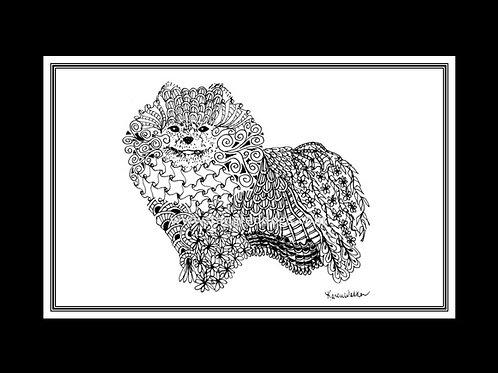 Pomeranian Print