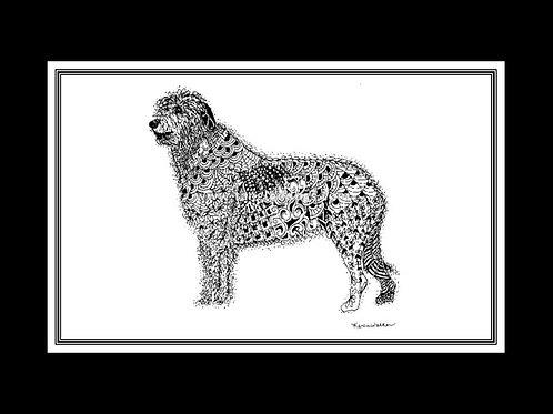 Irish Wolfhound Print