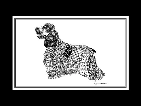English Cocker Spaniel Print