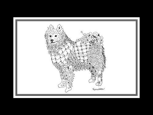 Samoyed Print