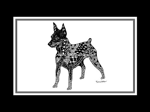 Miniature Pinscher Print