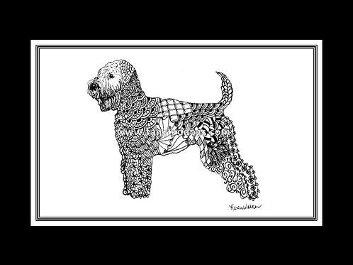 Soft Coated Wheaten Terrier Print