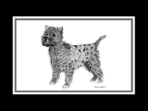 Cairn Terrier Print