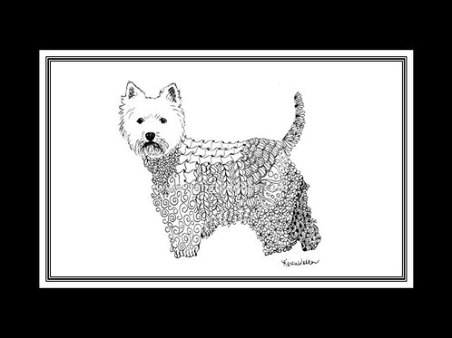 West Highland White Terrier Print