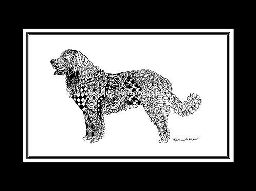 Leonberger Print