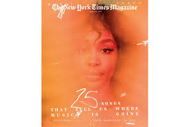 NY Times Magazine, Music issue cover