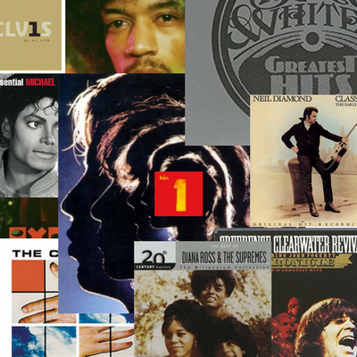 great Hits album covers