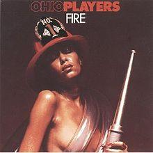 Album cover of Ohio Players' album Fire