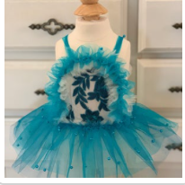 Teal Tutu Dress