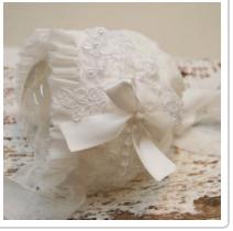 White Lace Bonnet