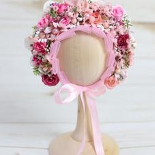 Blush Flower Bonnet