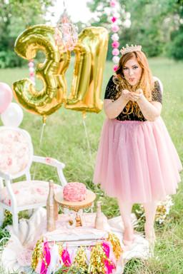 Courtney's 31st Cake Smash